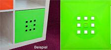Tür Einsatz Ikea Regal Expedit Kallax Facheinsatz Flexi mit Würfel*hellgrün