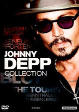 JOHNNY DEPP COLLECTION - COFFRET 5 DVD