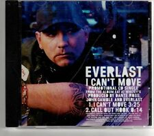 (GT641) Everlast, I Can't Move  - 2000 DJ CD