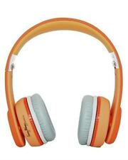 BRAND NEW Fanny Wang 1000 Series On-Ear Wangs Luxury Headphones Orange FW-1003