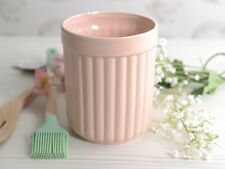 Katie Alice Cottage rosa fiore ceramica utensili Storage Jar-POT HOLDER