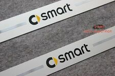 S.Steel Scuff plate Door sill Guards For MERCEDES BENZ SMART FORTWO 2007-2013