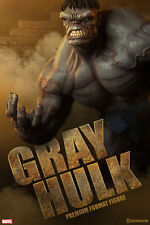 Sideshow Collectibles Marvel Gray Hulk Premium Format Figure New