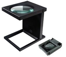 5X GIANT MAGNIFIER ILLUMINATED MAGNIFYING GLASS DESK 4""