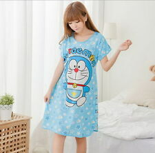 new summer cute cartoon pajamas /sleepcoat / nightclothes / sleepwear Doraemon 4