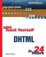 Sams Teach Yourself DHTML in 24 Hours-ExLibrary