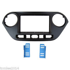 Fascia for Hyundai i-10 i10 facia dash mount kit adapter panel face plate cover