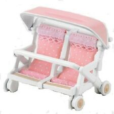 Epoch Sylvanian Families Doll Double Baby Buggy KA-214 from Japan