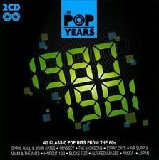 The  Pop Years: 1980-1981 - 2CD-SET - Stray Cats, Air Supply, Japan,Aneka & More
