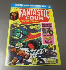 1974 Fantastic Four Power Records PR13 Book & Record VF+/FVF