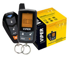 Viper Car Alarm & Remote Starter 2-Way LCD Remote 5305V NEW 1/4 Mile Range