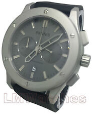 Parnis 44mm Chronograph Japanese Quartz Grey Sandblast New UK