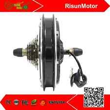 36V 48V 1000W Ebike Threaded In Rear Wheel Brushless Gearless Hub Motor