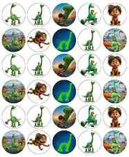 30 x The Good Dinosaur Cupcake Toppers Edible Wafer Paper Fairy Cake Toppers