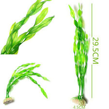 Long Green Grass Aquarium Decor Water Weeds Ornament Plant Fish Tool