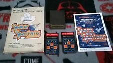 Space Spartans (for Intellivision) Complete in Box CIB!