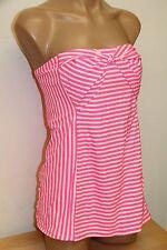 NWT Coco Rave Swimsuit 1 one pc attached Swim Dress Sz M 34D Sugar Rush Bandeau