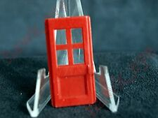 Plasticville Fire House Garage Door Red O-S Scale HTF