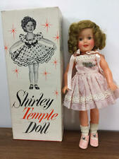 "VINTAGE IDEAL 12"" VINYL SHIRLEY TEMPLE DOLL WITH BOX"