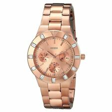 Guess U13013L1 Women's Rose Gold Dial Rose Gold Steel Quartz Watch