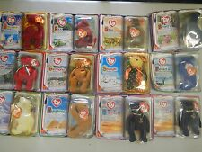 MCDONALD'S HAPPY MEAL TY BEANIE BABIES 2000 COMPLETE COLLECTION NEW PLUS EXTRAS!
