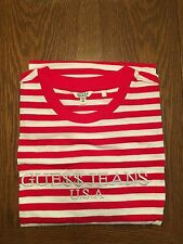 Guess ASAP T-Shirt sz. XL Stripe Jeans Rocky White Red *Ships Today*