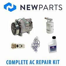Volkswagen EuroVan 93-95 AC A/C Complete Repair Kit OEM Compressor with Clutch