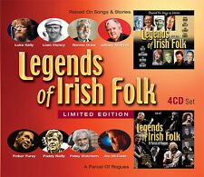 Legends of Irish Folk (4 CD Boxset!) Luke Kelly,Finbar Furey,Paddy Reilly,
