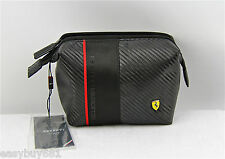 FERRARY CARBON BEAUTY CASE SCUDETTO 100% BRAND NEW AND 100% AUTHENTIC
