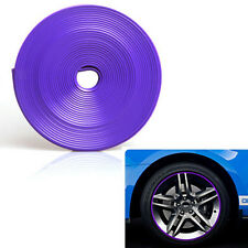 Car Tire Wheel Hub Rim Edge Protector Ring Guard Tape Sticker Rubber Moulding 7M