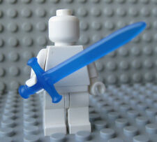 Custom Sovereign SWORD -Trans DARK BLUE- for LEGO Minifigures- Castle LOTR