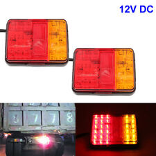 Rear Lamp Tail Light Van Indicator 30 LED For Boat Kit Trailer UTE Camper Truck