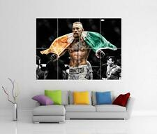 CONOR MCGREGOR UFC KO IRELAND FLAG GIANT WALL ART PHOTO PICTURE PRINT POSTER