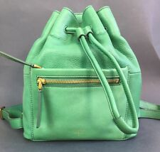 Fossil Green Leather Re-Issue Sling Backpack $198.00