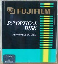 "FUJIFILM RE - WRITABLE 5.25"" 2.6Gb MAGNETO - OPTICAL DISK - MO DISK - Tab Sealed"