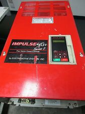 IMPULSE VG+ FLUX VECTOR CRANE CONTROLS GPD51C-B080 OUTPUT 80A 0-460 V USED
