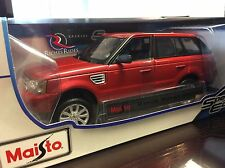 Maisto 1:18 Scale Special Edition Diecast Model Car- Range Rover Sport  (Red)