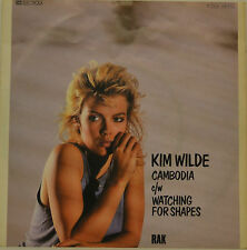 "KIM WILDE - CAMBODIA - WATCHING FOR SHAPES  Single 7"" (H877)"