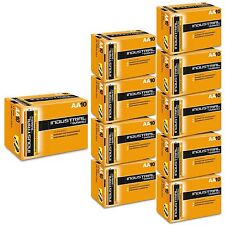 100 DURACELL INDUSTRIAL AA MN1500 BATTERIES PROFESSIONAL REPLACES PROCELL