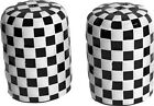 Check Of hydrochloric and Pepper Shakers Salt black/white rockabilly punk