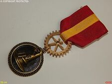 Steampunk brooch badge Medal pindrape Harry Potter Gryffindor sorting hat wizard