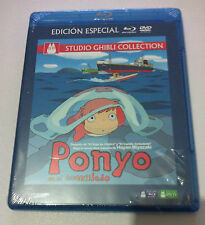 PONYO EN EL ACANTILADO - STUDIO GHIBLI COLLECTION -ED ESPECIAL BLURAY + DVD NEW