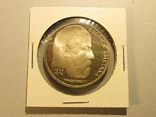 1974 Czechoslovakia Composer BEDRICH SMETANA 100 Korun Silver Proof Coin Czech