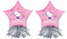 HELLO KITTY BALLOON CENTERPIECE Table Decoration Happy Birthday Girls Kids Pink
