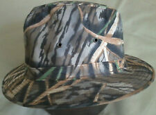 Safari Hat, Size Medium, Mossy Oak Shadow Grass Camo, Langenberg Hat, Made inUSA