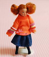 SWEET SKIRT GIRL  1/12 Dollhouse Miniature DOLL Lovely PP50