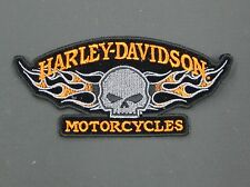 HARLEY DAVIDSON WILLIE G SKULL FLAME PATCH
