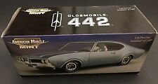 1969 Oldsmobile 442 W30 American Muscle Mint 1/18 Rare !