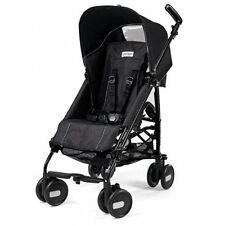 Peg Perego 2016 Pliko Mini Stroller in Onyx Black Brand New!!