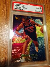 1995 Fleer Metal Grant Hill #2 Molten Metal Insert Basketball PSA 10 Gem Mint